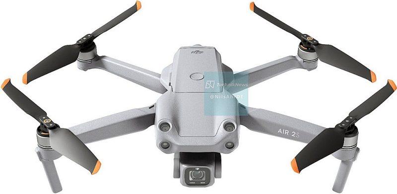 大疆AIR 2S无人机外观照和规格曝光