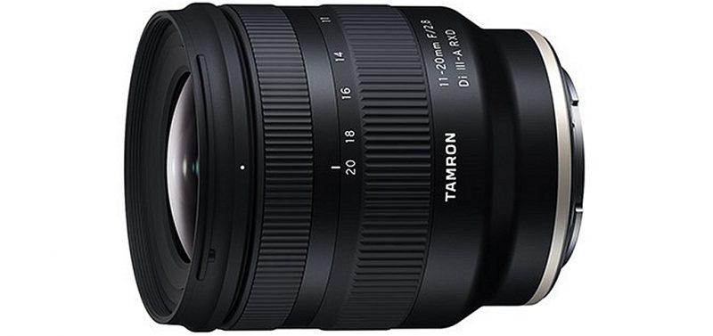 腾龙11-20mm F2.8 Di III-A RXD镜头外观照和规格曝光
