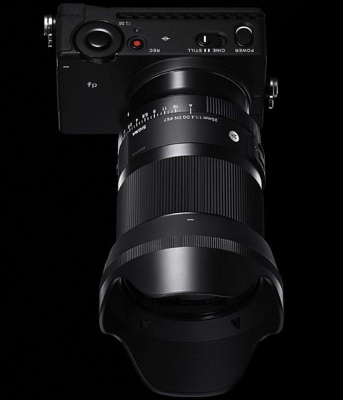 适马35mm F1.4 DG DN Art镜头外观照曝光