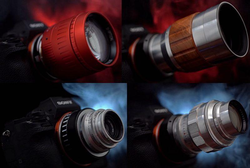 五款截然不同的镜头分别会拍摄出怎样的图像?