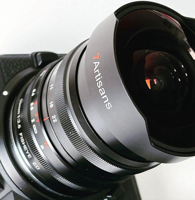 七工匠即将发布10mm F2.8鱼眼镜头