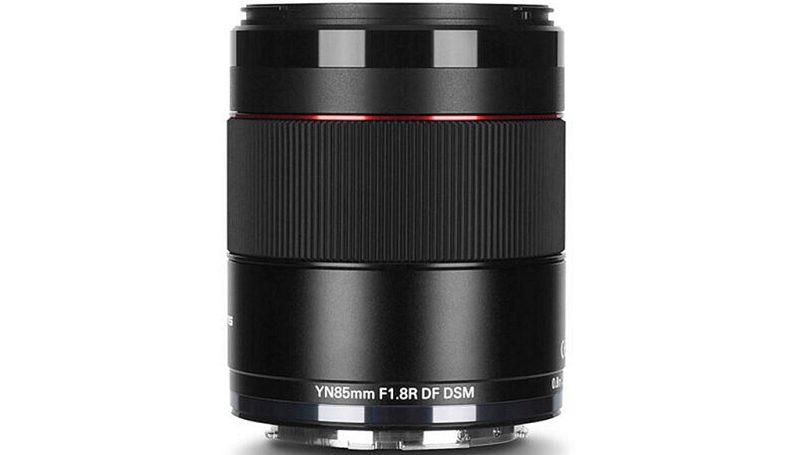 永诺正式发布YN 85mm F1.8R DF DSM AF镜头