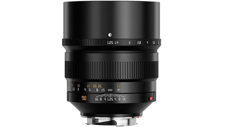 铭匠光学正式发布90mm F1.25镜头