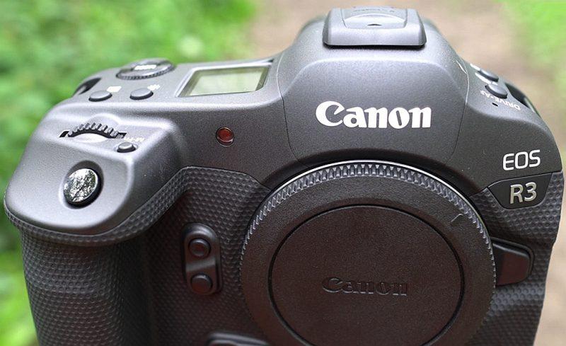 佳能EOS R3相机实物图曝光