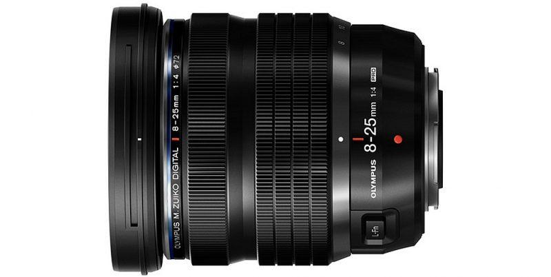 奥林巴斯正式发布M.ZUIKO DIGITAL ED 8-25mm F4 PRO镜头