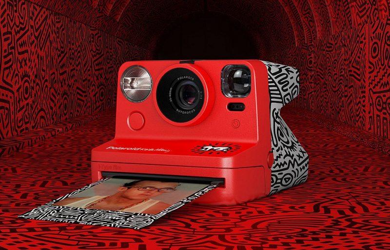 宝丽来正式发布与Keith Haring基金会合作款相机
