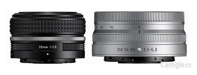 尼康正式发布NIKKOR Z 28mm F2.8(SE)特别版、NIKKOR Z DX 16-50mm F3.5-6.3 VR银色版镜头