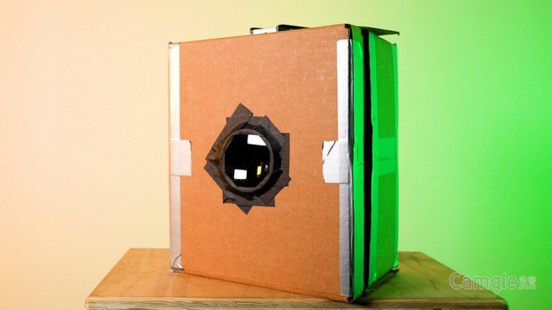 如何自制数码相机暗箱?