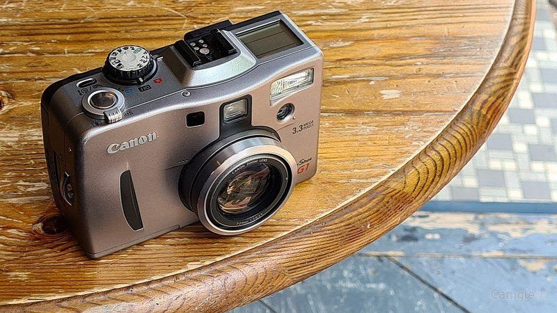 经典即是永恒(五):佳能PowerShot G1相机
