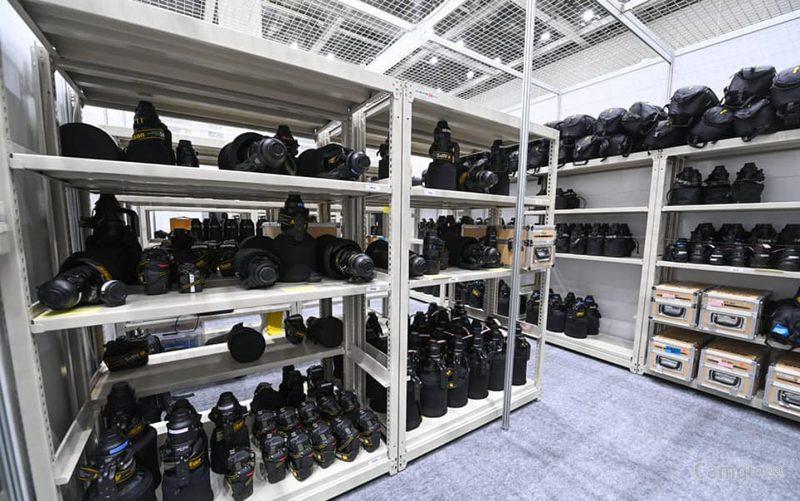 2021年日本东京奥运会的尼康装备室