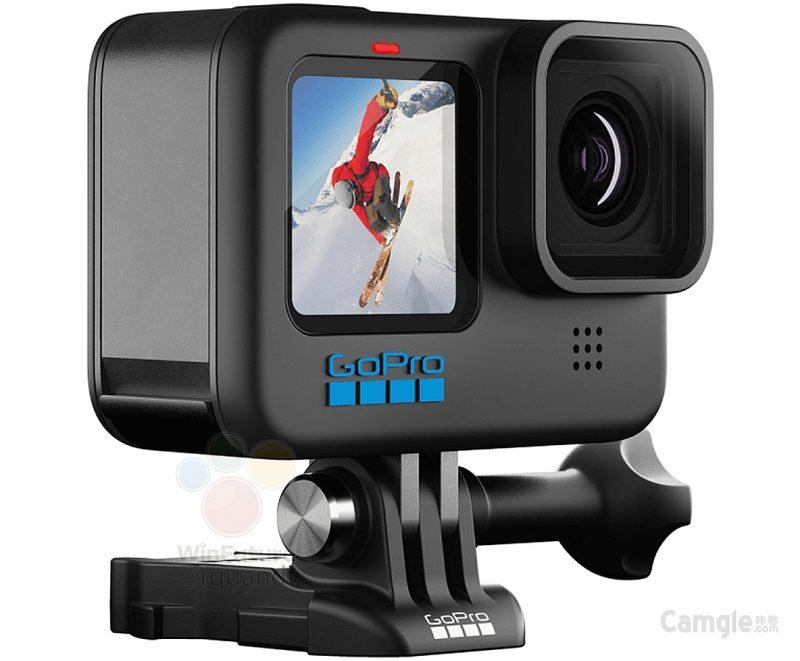 GoPro Hero 10运动相机外观照曝光