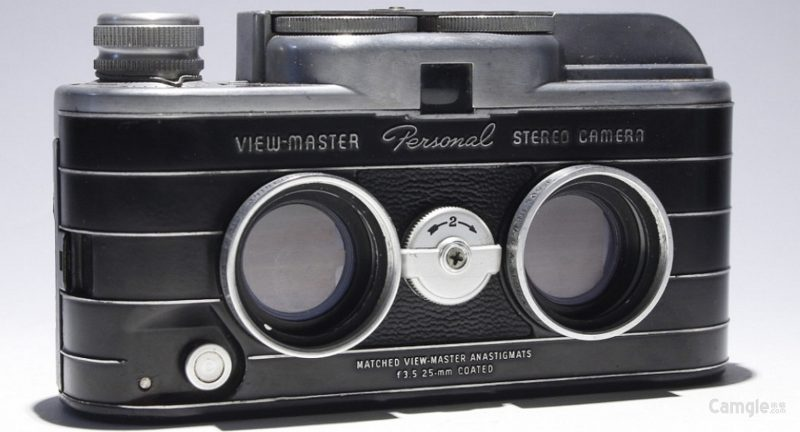 极其罕见的View-Master Personal立体原型相机