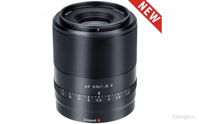 唯卓仕正式发布AF 35mm F1.8 Z镜头