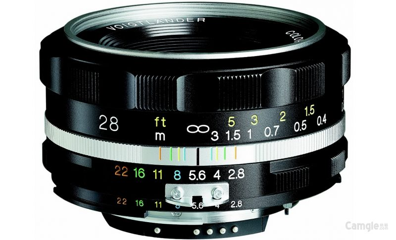 福伦达COLOR-SKOPAR 28mm F2.8 SL II S Aspherical镜头外观照曝光