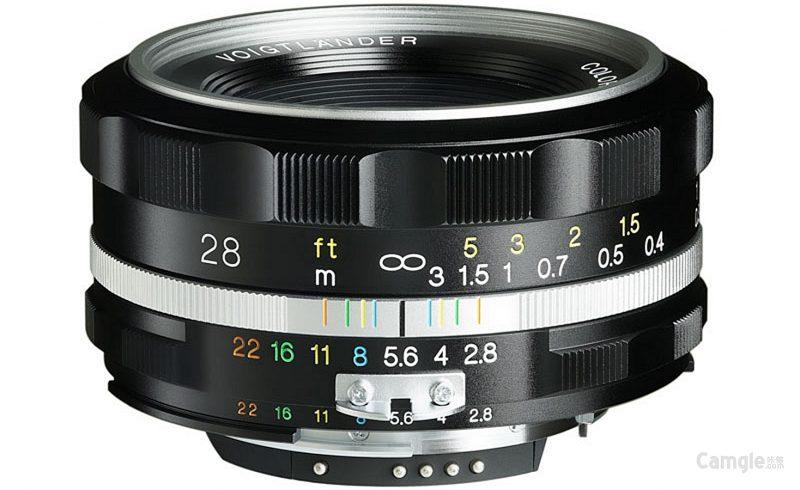 确善能发布福伦达Color-Skopar 28mm F2.8 SL II S Aspherical镜头