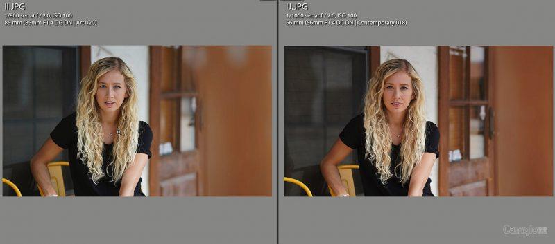 如何辨别APS-C画幅和全画幅相机所拍摄出的肖像?