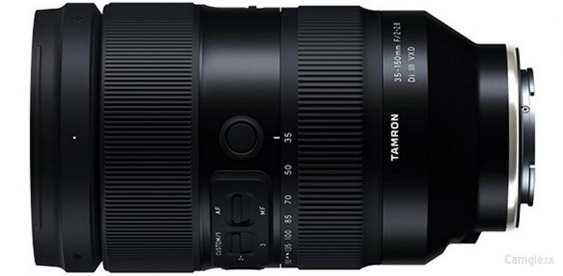 腾龙35-150mm F2-2.8 Di III VXD、28-75mm F2.8 Di III VXD G2镜头外观照和规格曝光