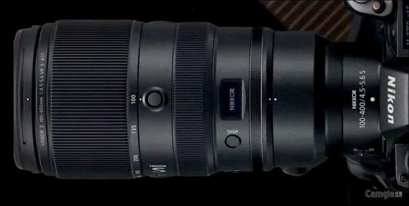 尼康NIKKORZ 100-400mm F4.5-5.6 IS S镜头外观照曝光